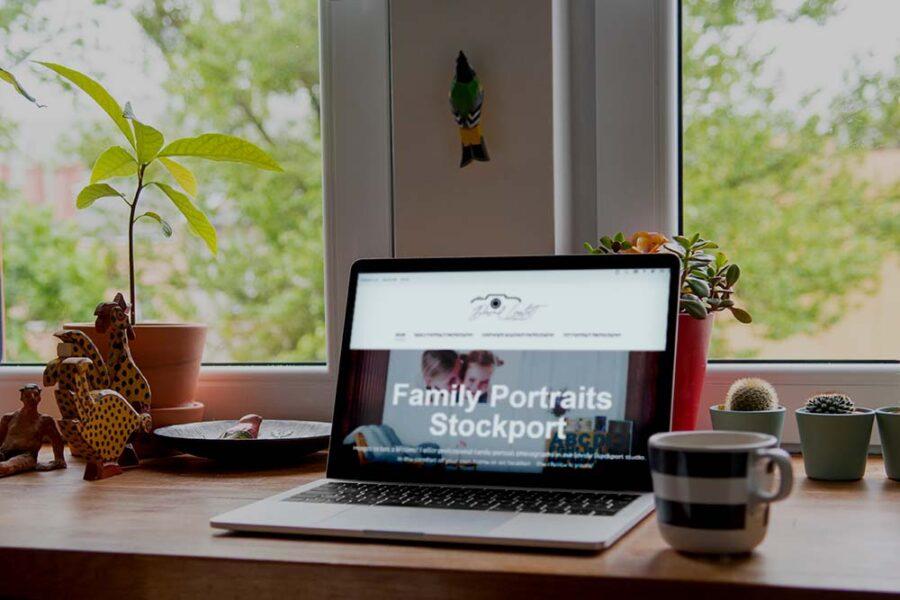 new website blog header