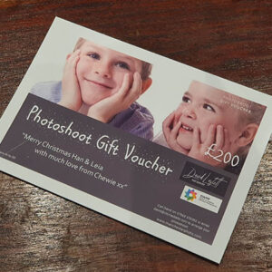 photoshoot voucher sample