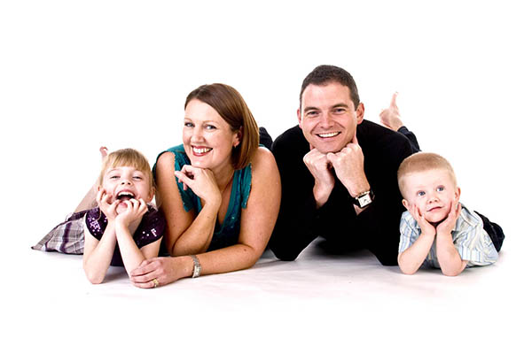family photo studio stockport